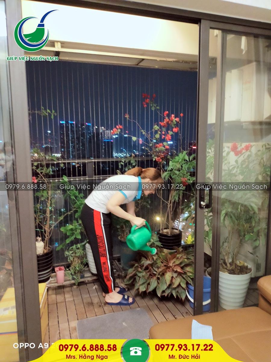 Cung cấp người giúp việc cho khách hàng tại chung cư 21 Lê Văn Lương