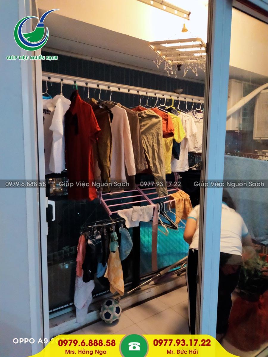 Cung cấp người giúp việc cho khách hàng tại chung cư 176 Định Công