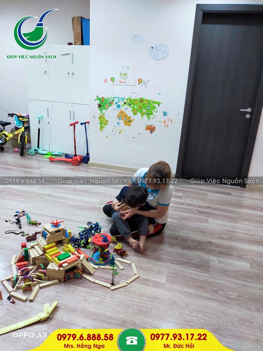 Cung cấp người giúp việc cho khách hàng tại chung cư 201 Minh Khai