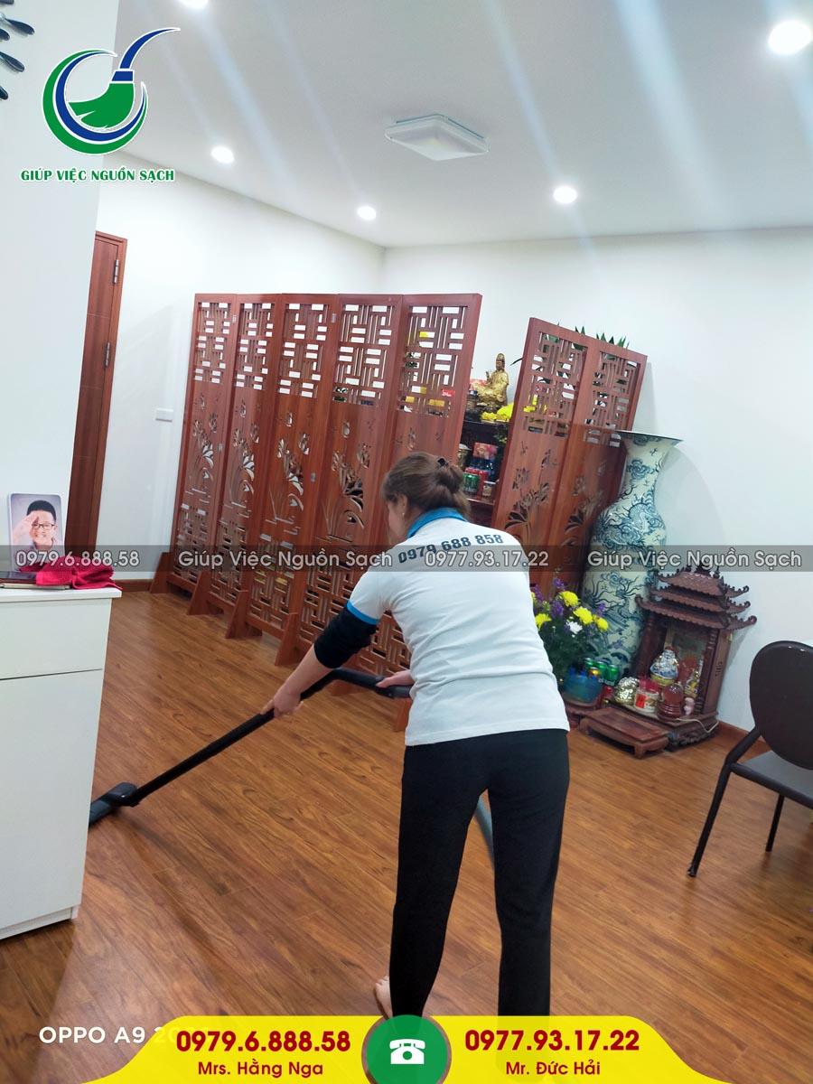 Cung cấp người giúp việc cho khách hàng tại chung cư 69B Thụy Khuê