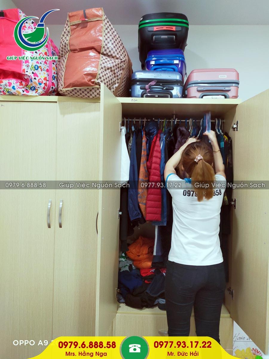 Cung cấp người giúp việc cho khách hàng tại chung cư 317 Trường Chinh BID Tower