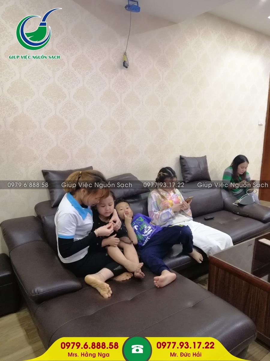 Cung cấp người giúp việc cho khách hàng tại chung cư 30 Trần Hữu Dực