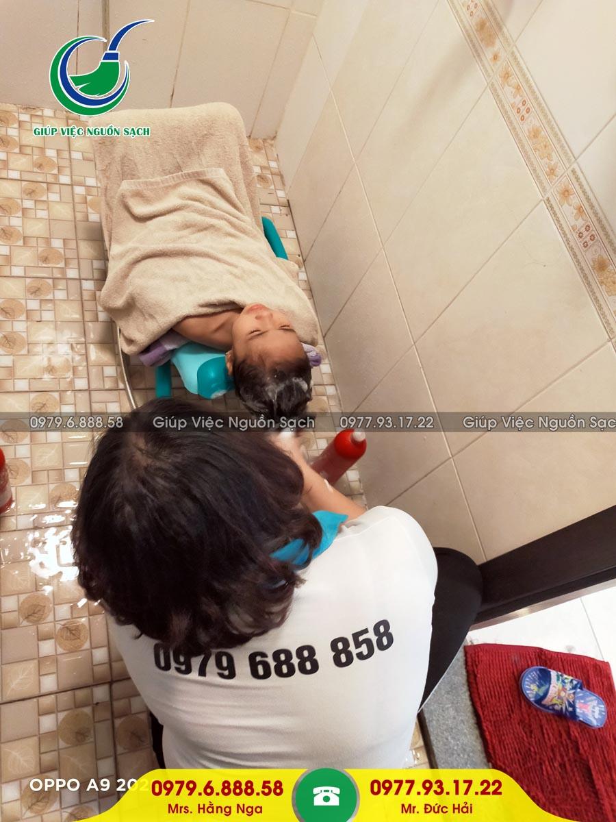 Cung cấp người giúp việc cho khách hàng tại chung cư 16 Phạm Hùng