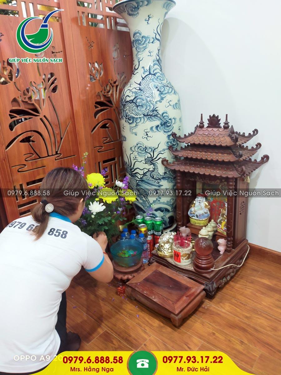 Cung cấp người giúp việc gia đình tại Phường Mộ Lao