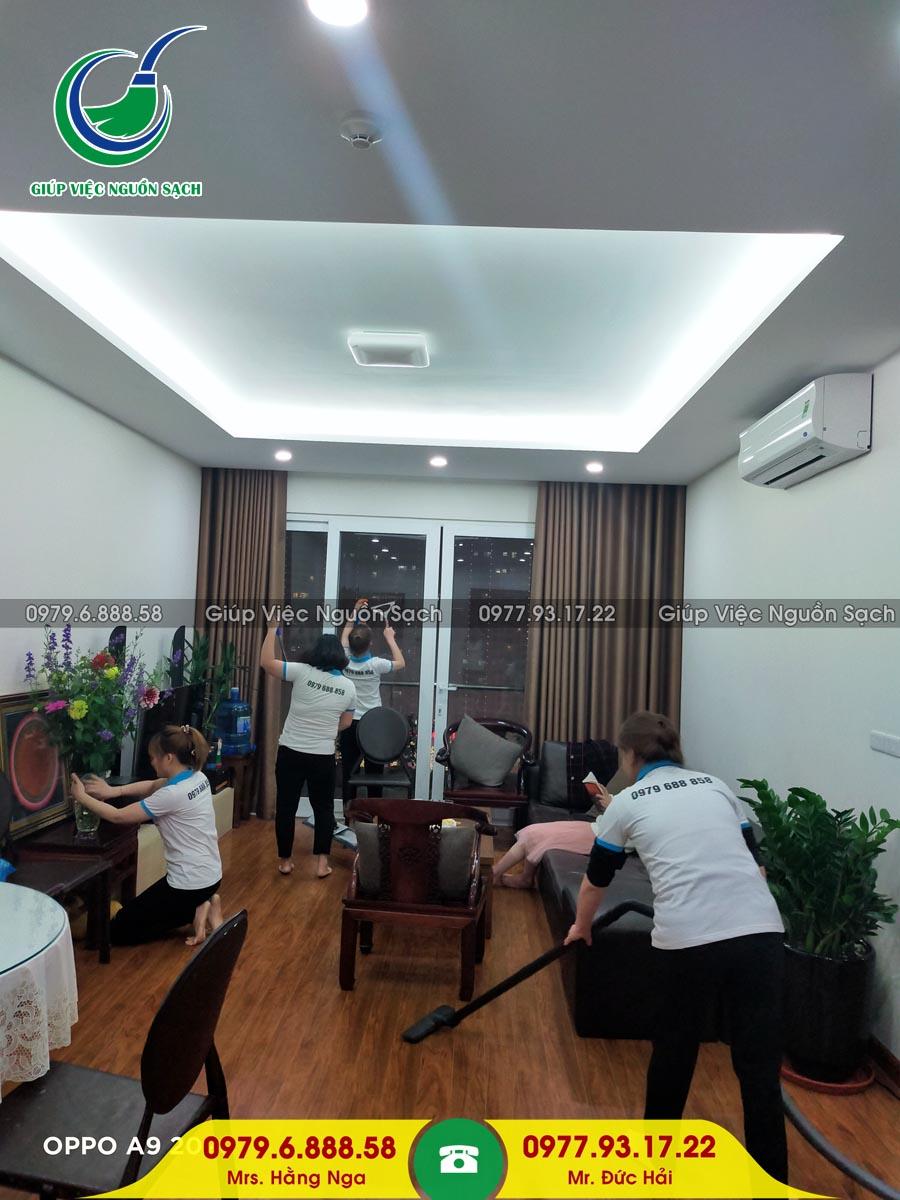 Cung cấp người giúp việc gia đình tại Phường Giang Biên