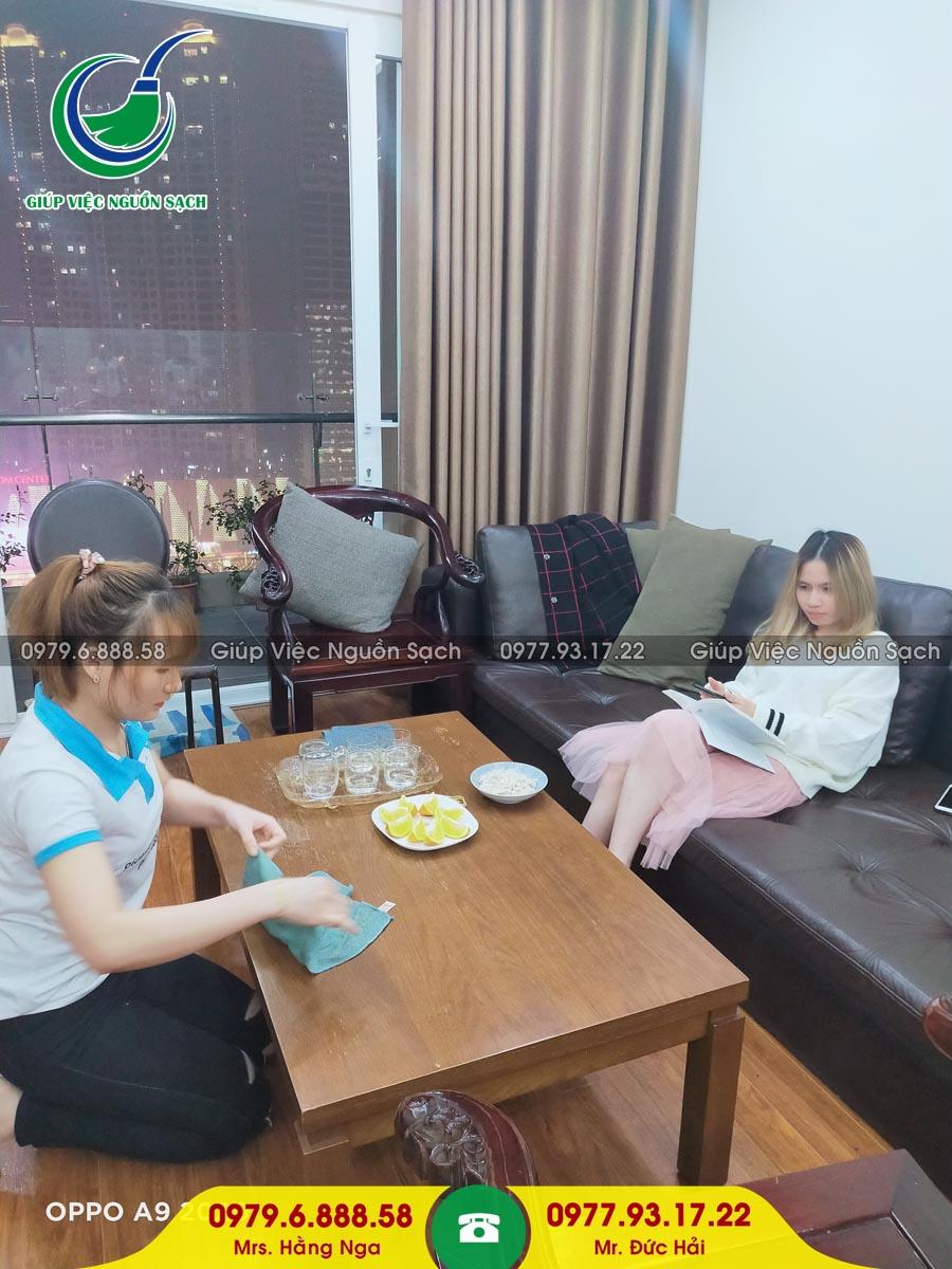 Cung cấp người giúp việc gia đình tại phường Thành Công