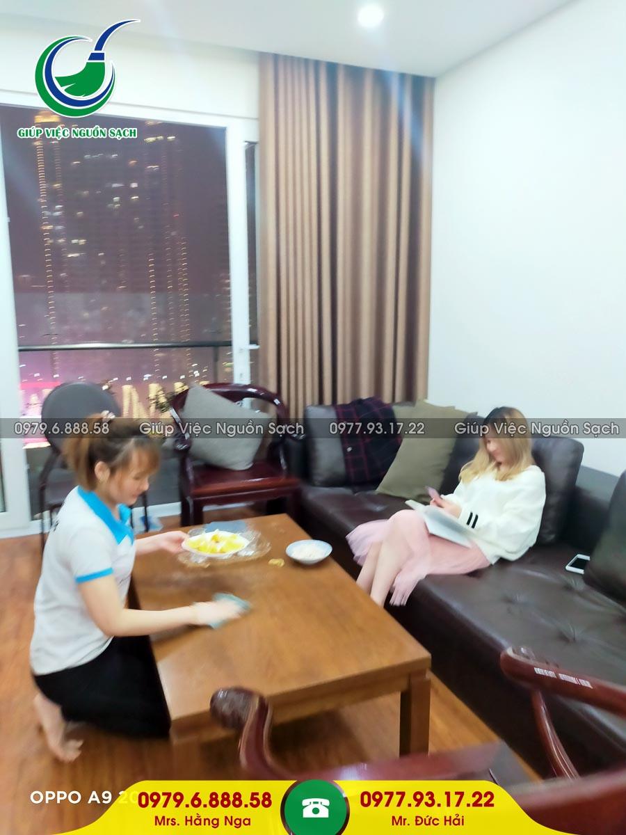 Cung cấp người giúp việc gia đình tại phường Điện Biên