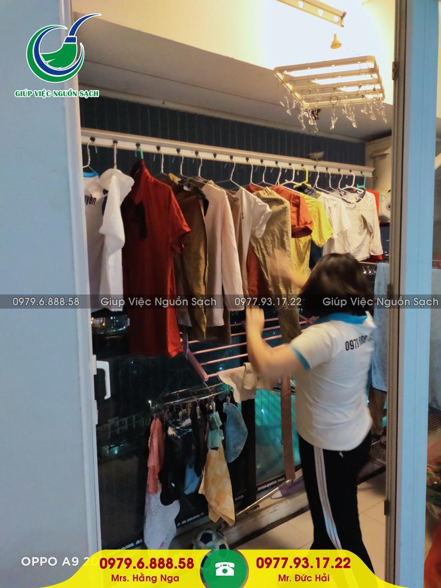 Giá giúp việc nhà theo giờ tại Hà Nội
