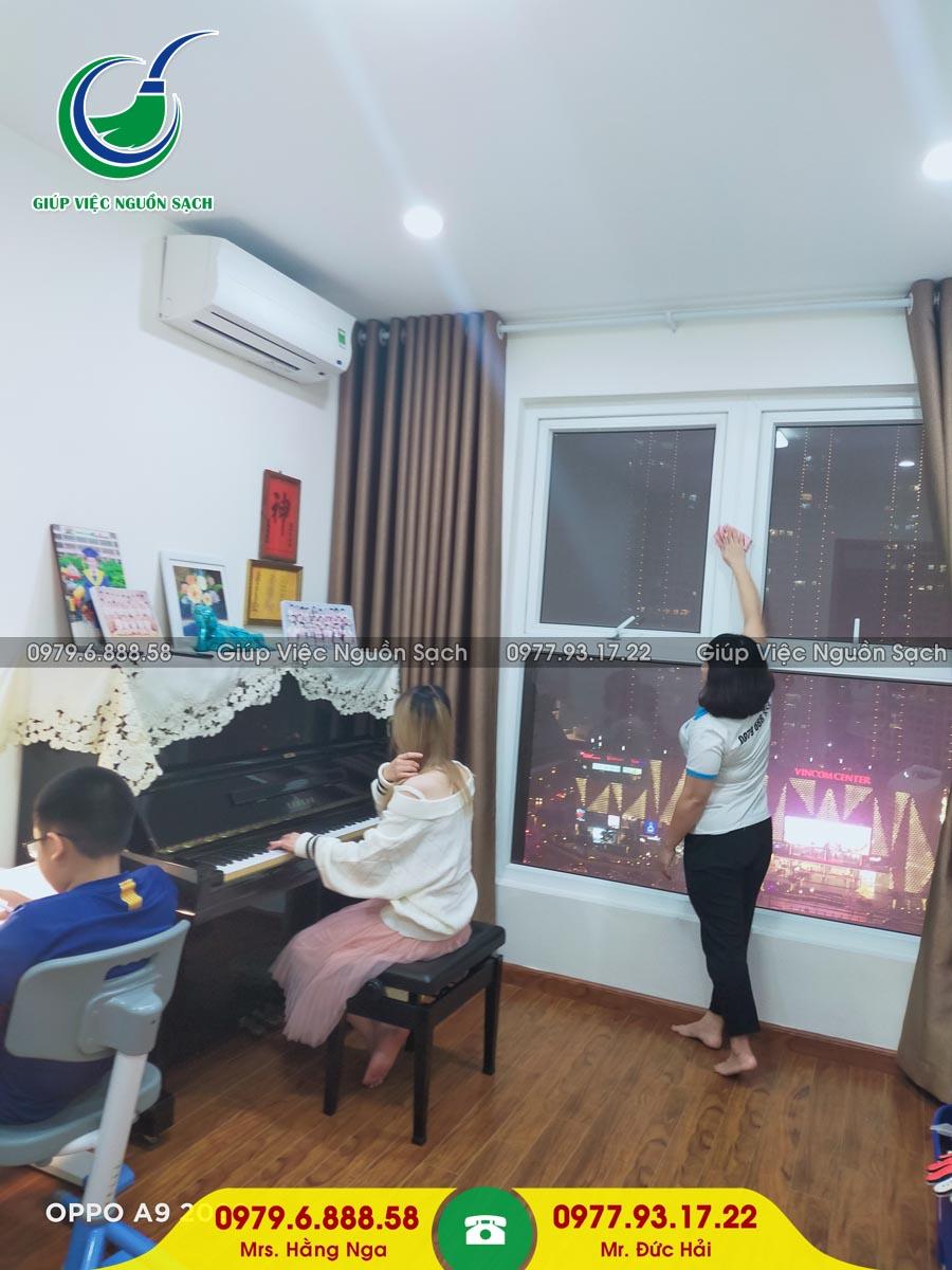 Tìm giúp việc theo giờ tại Hà Nội
