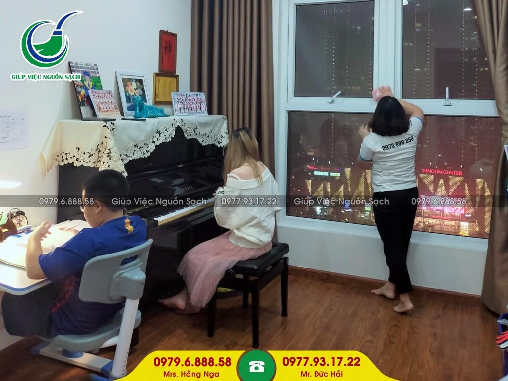 Trải nghiệm dịch vụ giúp việc gia đình tại Hà Nội tốt và chuyên nghiệp nhất