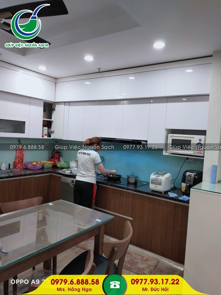 Thuê giúp việc nhà chung cư tại Hà Nội