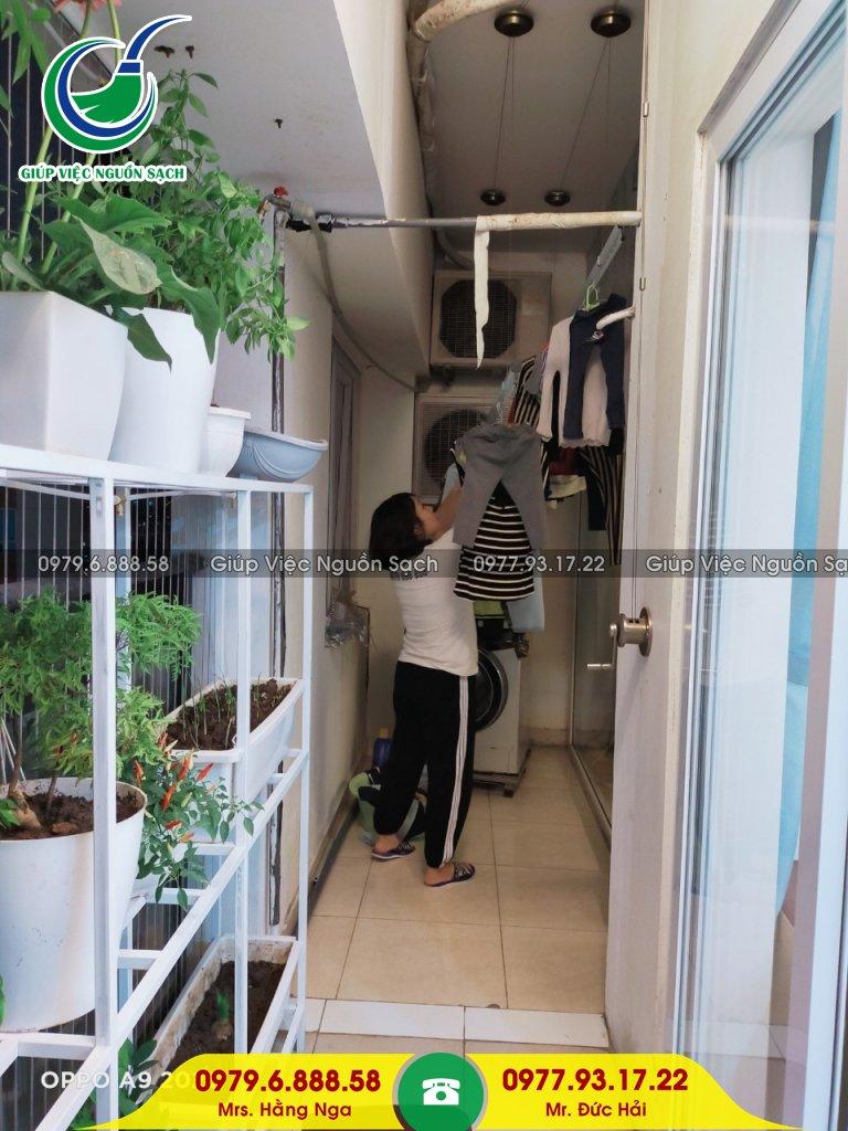 Chi phí giúp việc nhà chung cư