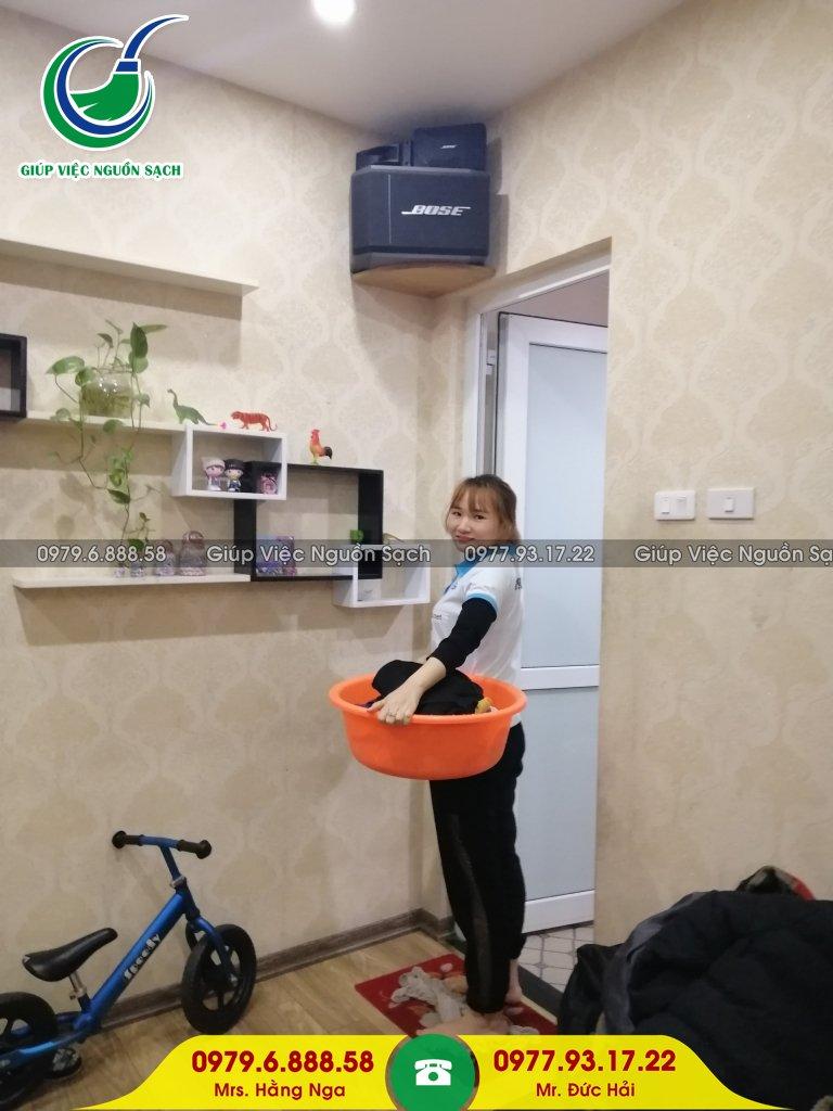 Giá giúp việc nhà chung cư