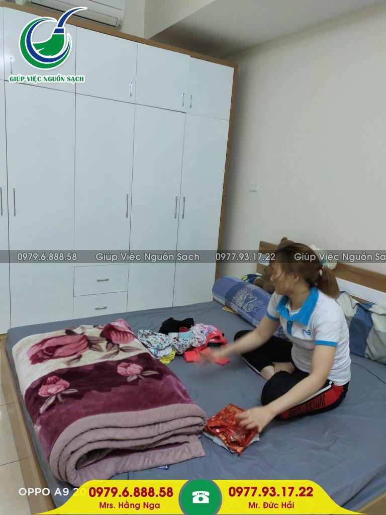 Giá giúp việc nhà chung cư tại Hà Nội