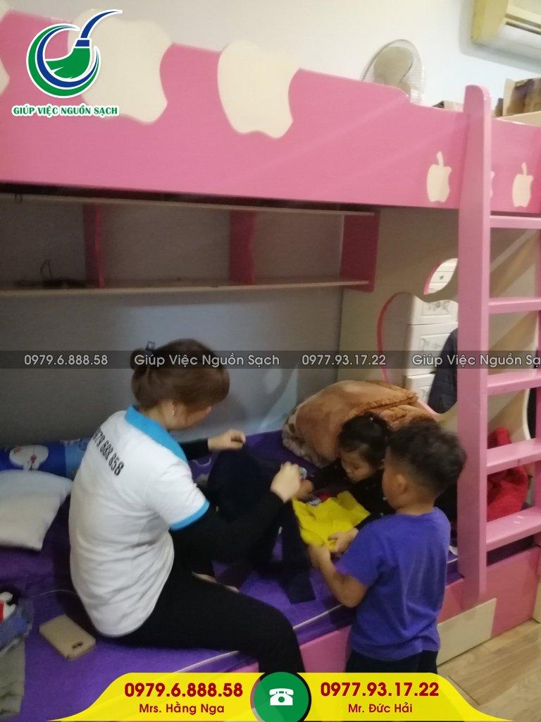 Tìm giúp việc chăm trẻ tại Hà Nội
