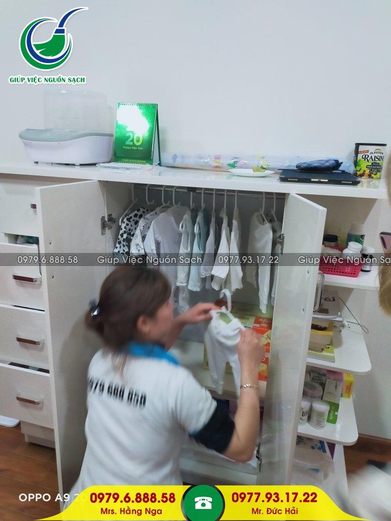 Thuê giúp việc chăm bé tại Hà Nội