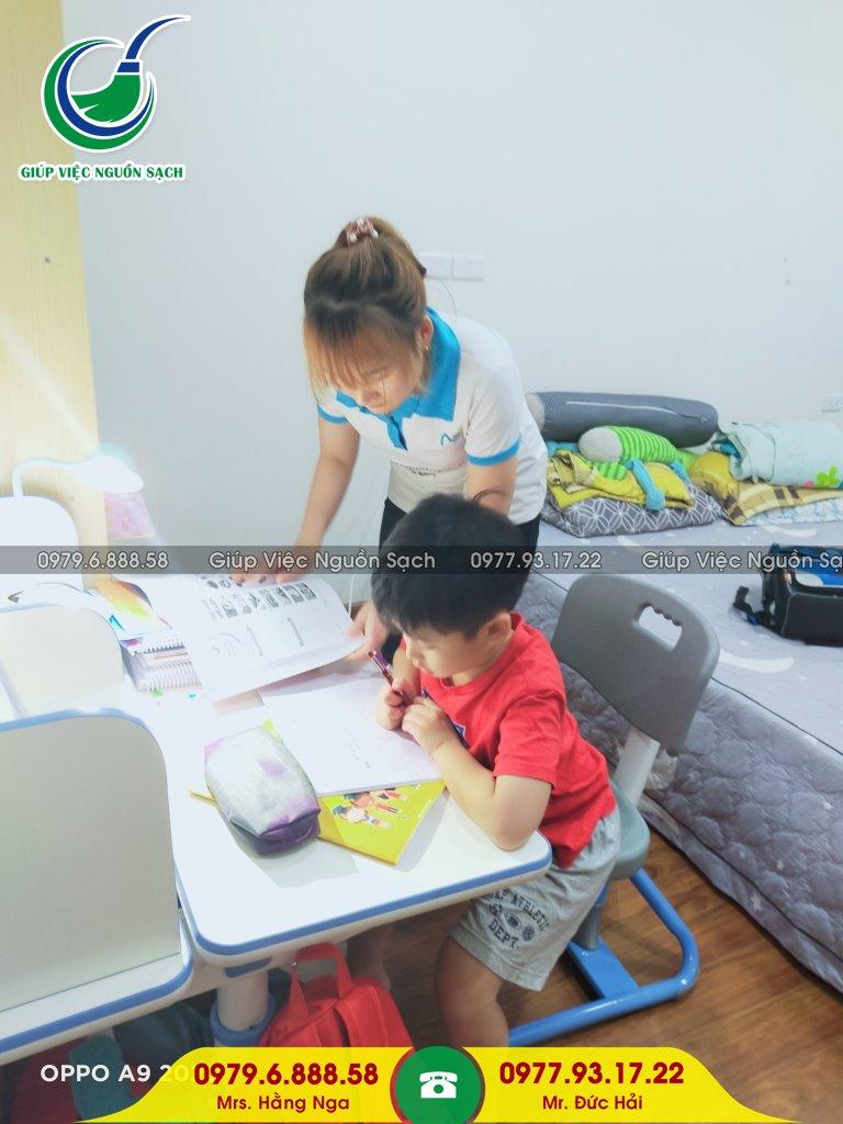 Tìm giúp việc nhà chăm trẻ tại Hà Nội