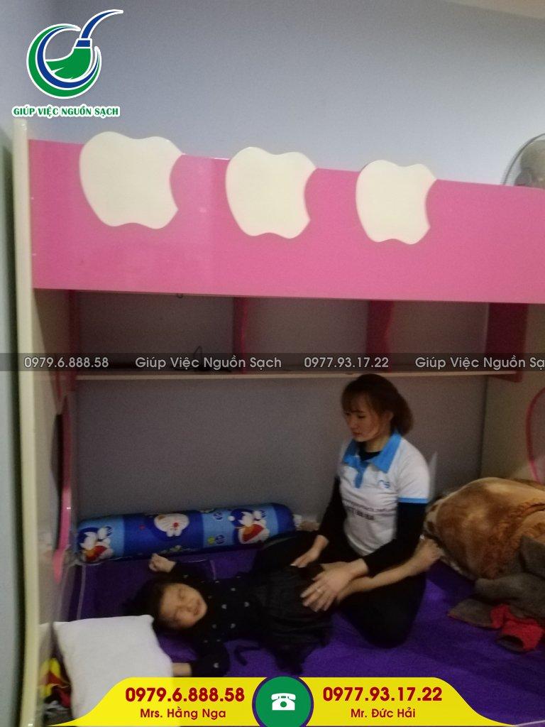 Thuê giúp việc nhà chăm bé tại Hà Nội