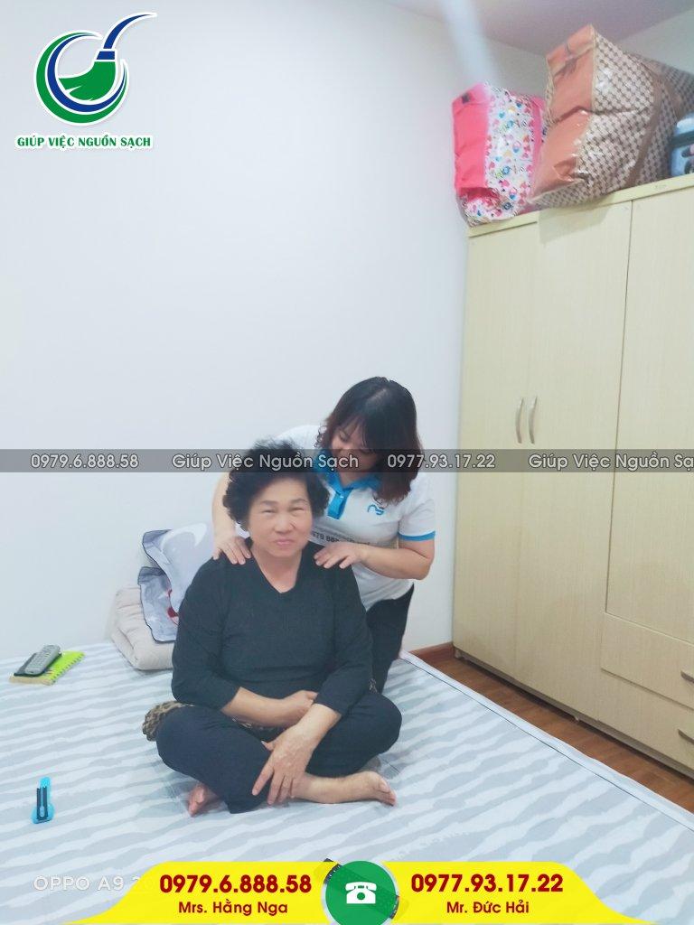 Giúp việc chăm người già tại Hà Nội
