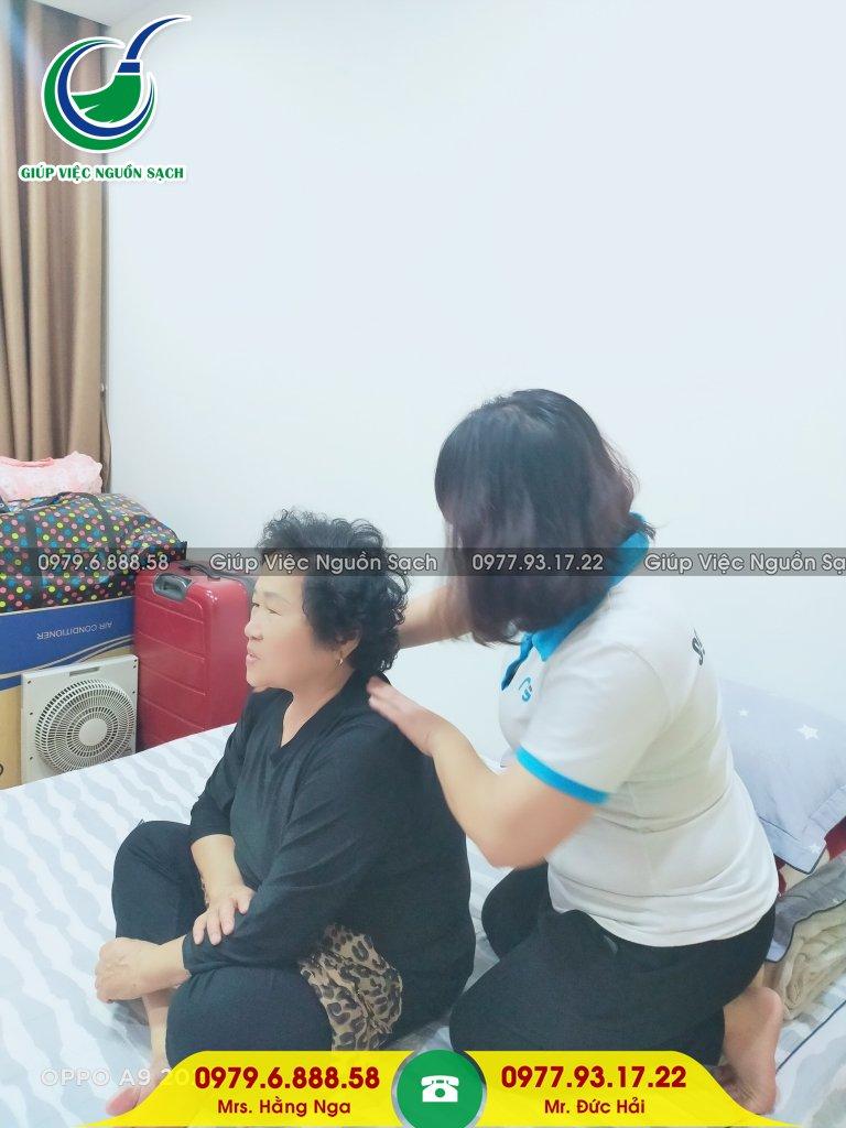 Tìm giúp việc nhà chăm người già tại Hà Nội