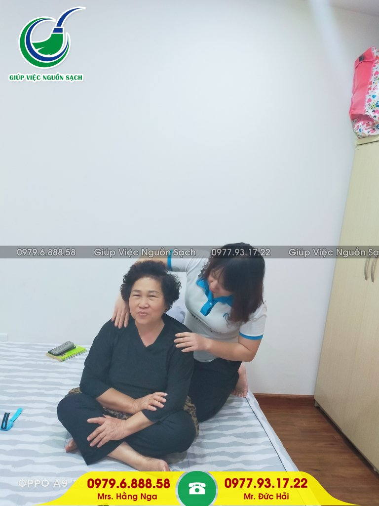 Thuê giúp việc nhà chăm người già tại Hà Nội