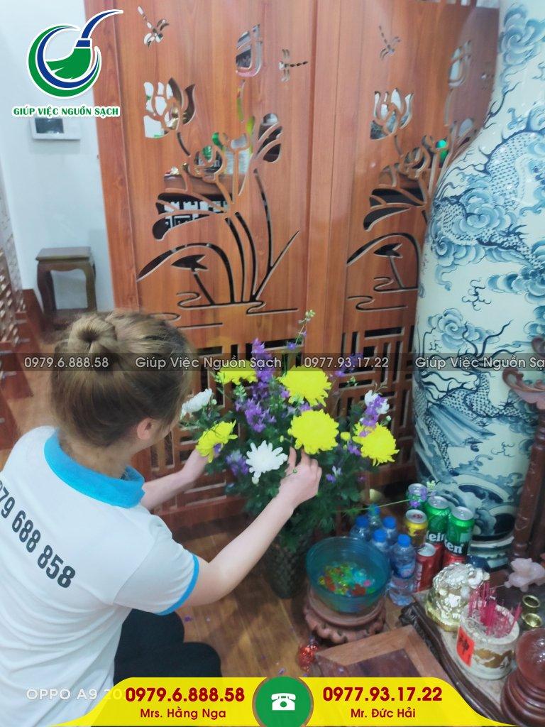 Tìm giúp việc chăm người già tại Hà Nội
