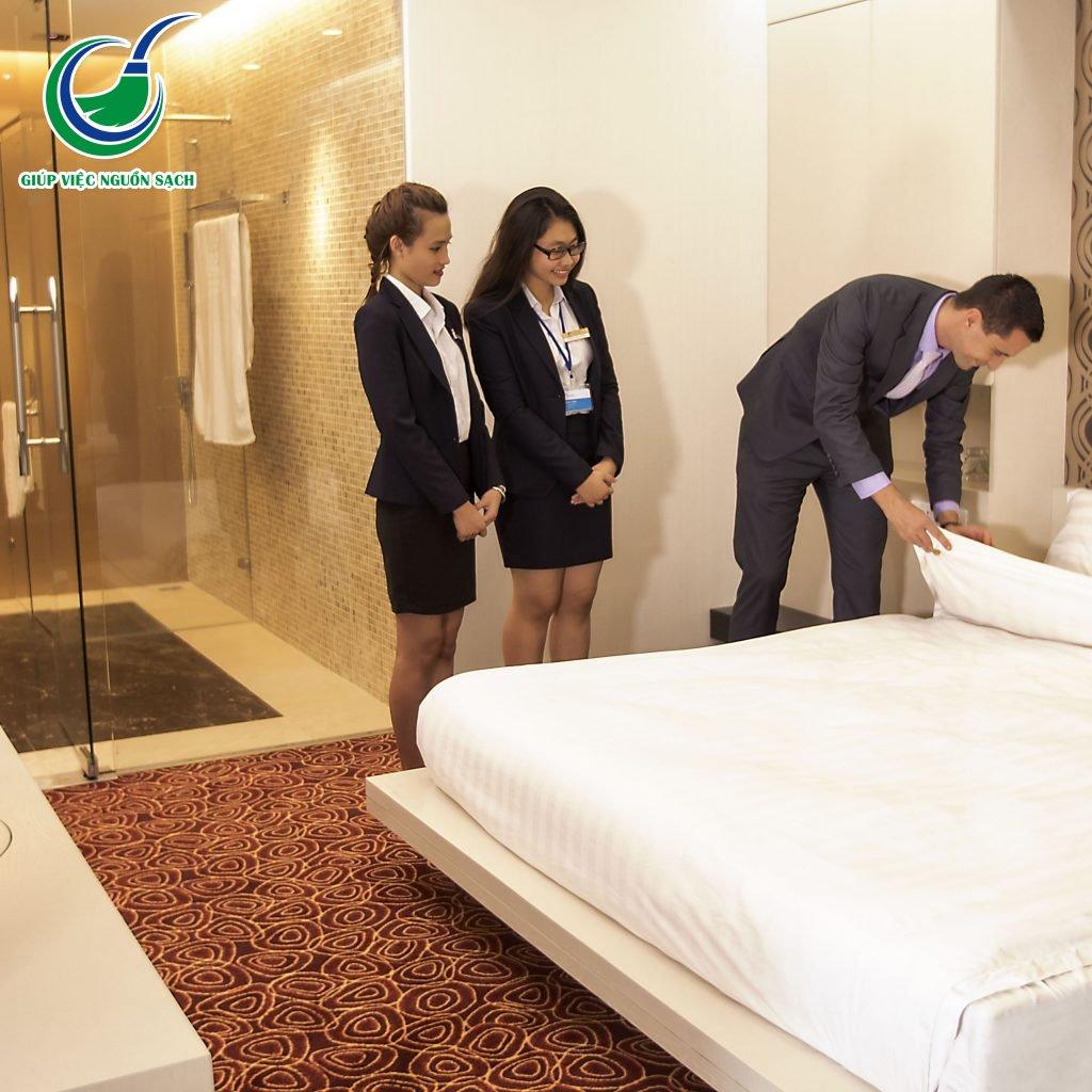 Cung cấp giúp việc khách sạn