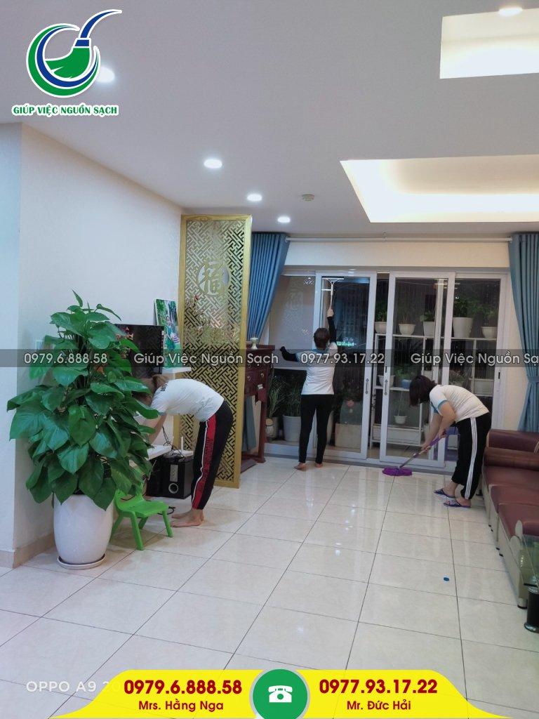 Thuê giúp việc ngày tết tại Hà Nội