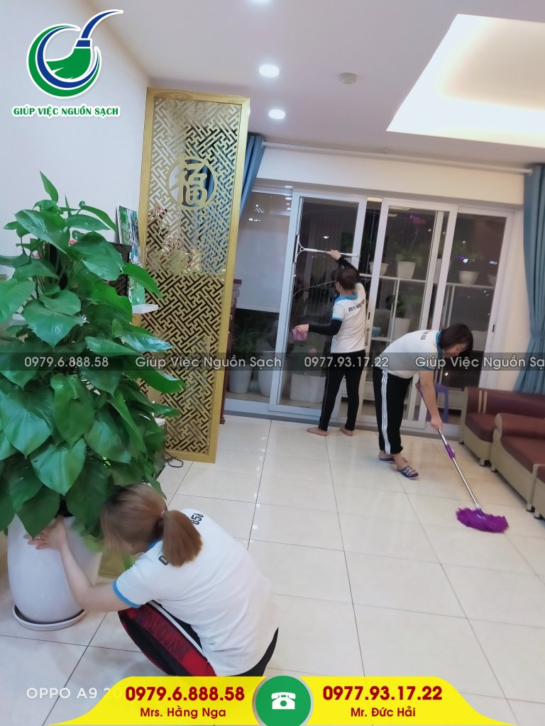 Giá giúp việc nhà ngày tết tại Hà Nội