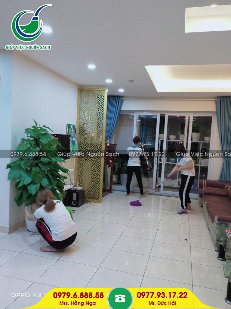 Tìm giúp việc parttime tại Hà Nội