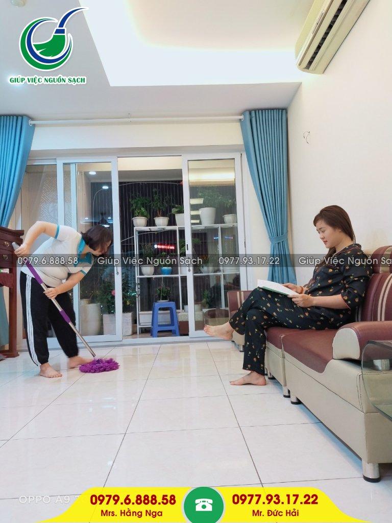 Thuê giúp việc parttime tại Hà Nội