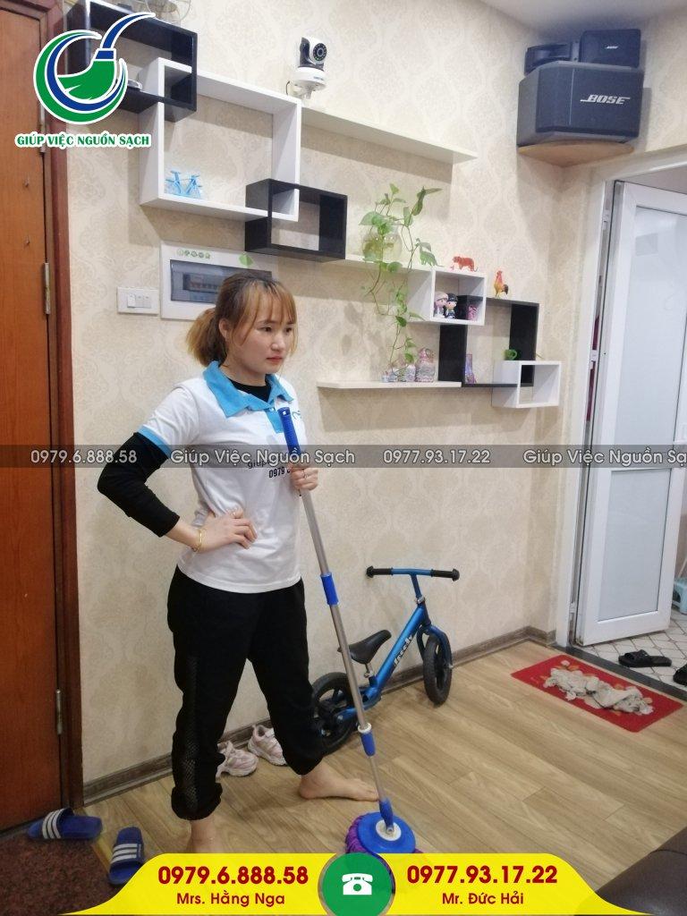 Thuê giúp việc 1 ngày tại Hà Nội
