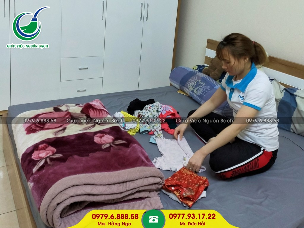 Cung cấp người giúp việc ăn ở lại tại Hà Nội