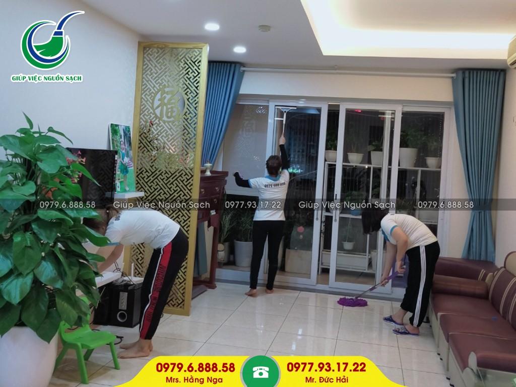 Cung cấp người giúp việc theo giờ tại Hà Nội